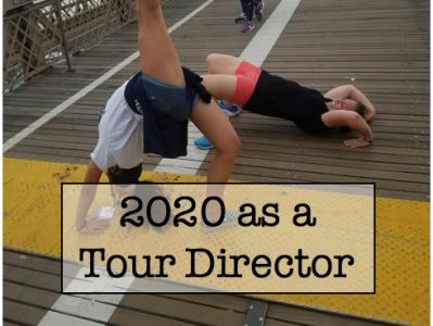 2020 as a Tour Director